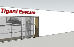 Tigard Eyecare Proposed Remodel