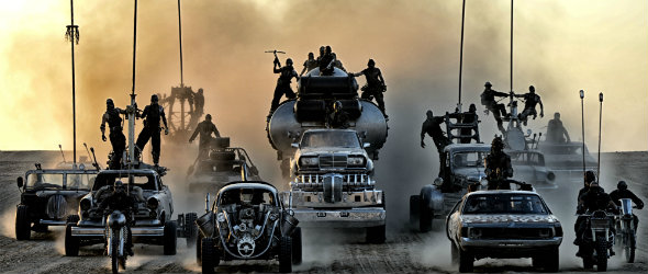 Eclipse traffic or Mad Max?